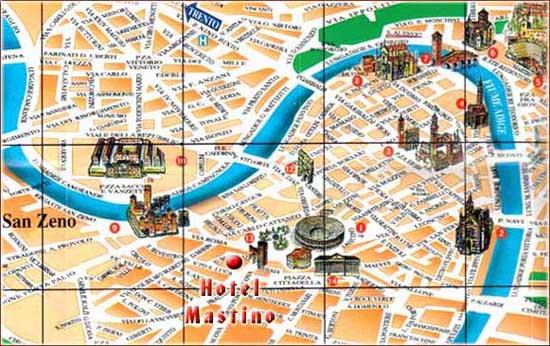 verona tourism map - photo#21